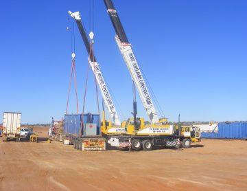PAC_Cranes & Heavy Haulage - Dual Crane Lift