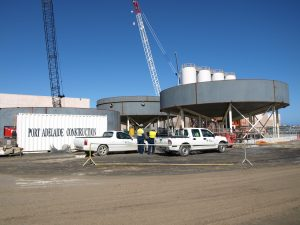 PAC_Water Industry - Desalination Plant - Clarifier Construction