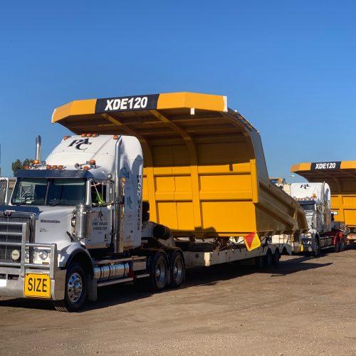 PAC_ Transport - Dump Truck Tray Transport