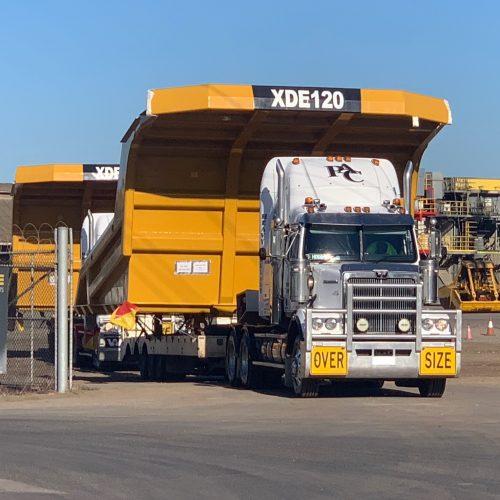 PAC_Transport - Dump Truck Tray Transport